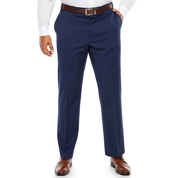 Collection by Michael Strahan  Plaid Suit Pants - Big and Tall