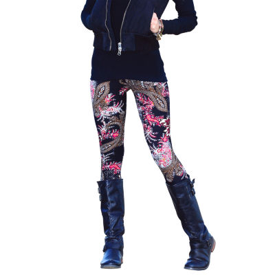 Mayah Kay Fashion Paisley Leggings