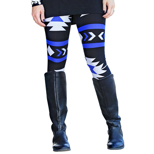 Mayah Kay Fashion Geometric Leggings