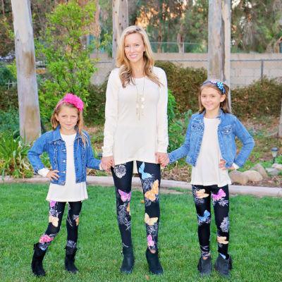 Mayah Kay Fashion Butterfly Leggings