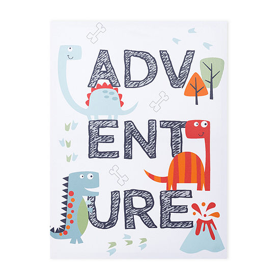 Trend Lab Dinosaur Adventure Canvas Wall Art Canvas Art