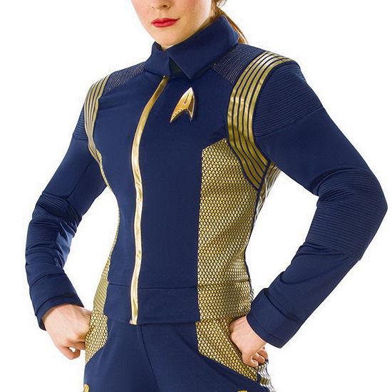Star Trek Discovery Womens Gold Command Uniform Dress Up Costume Costume Costume