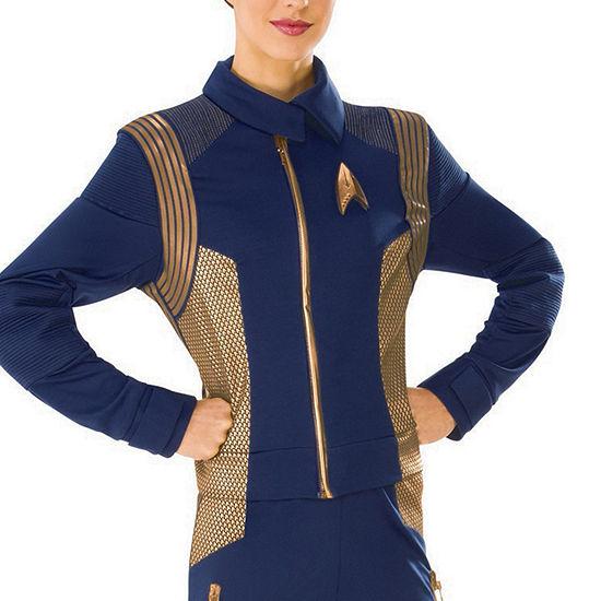 Star Trek Discovery Womens Copper Operations Uniform Dress Up Costume Costume Costume