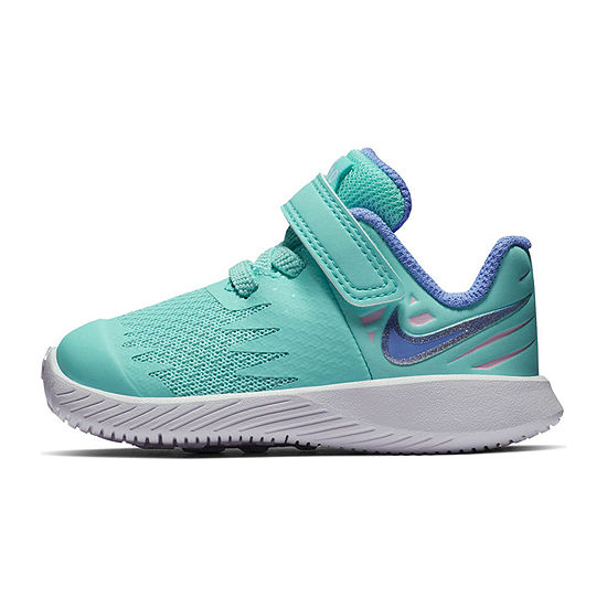 Nike Star Toddler Girls Lace Up Running Shoes