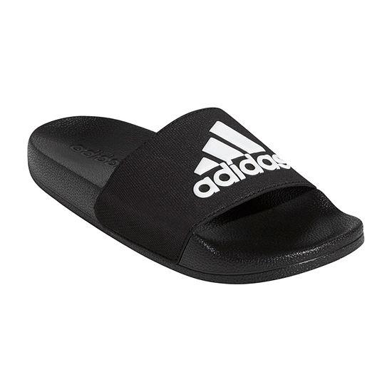 low priced 99a88 1f836 adidas Little Kid Big Kid Boys Adilette Shower Slide Sandals - JCPenney