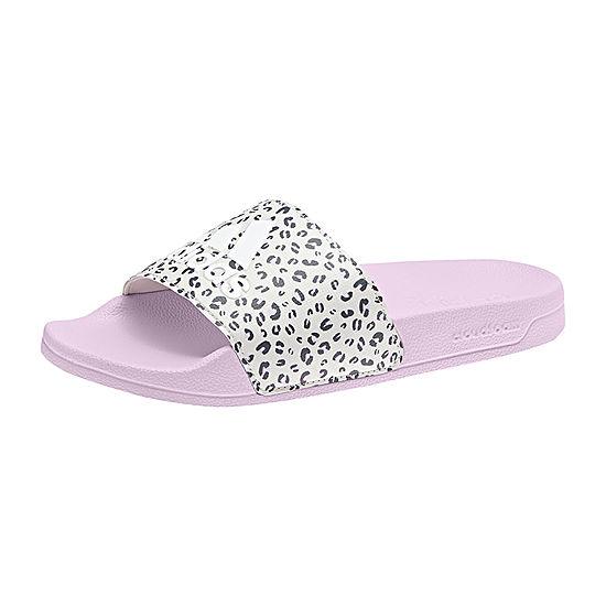 18422145e91561 Adidas Little Kid Big Kid Girls Adilette Shower K Slide Sandals - JCPenney