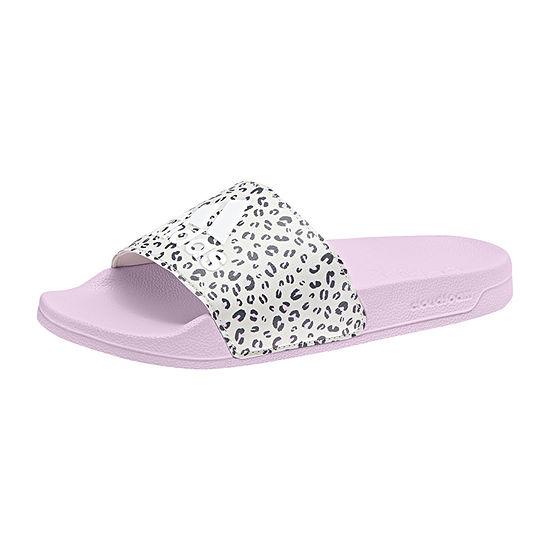 d53e04ced0ac Adidas Little Kid Big Kid Girls Adilette Shower K Slide Sandals - JCPenney