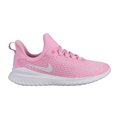 Nike Renew Rival Big Kids Girls Lace-up Running Shoes