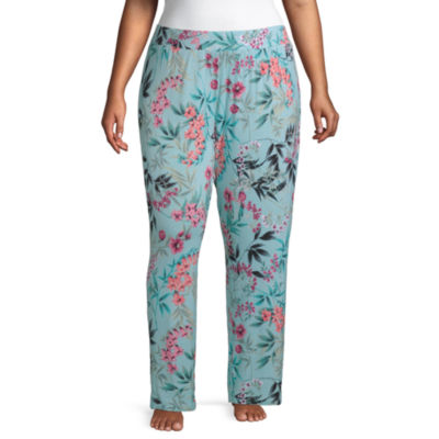 Ambrielle Knit Pajama Pants Womens - Plus
