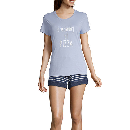 Wallflower Junior's Short Pajama Set