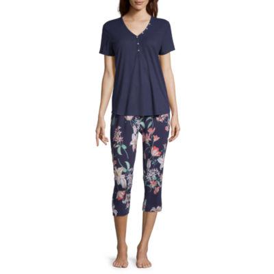 Liz Claiborne® Women's Capri Pajama Set