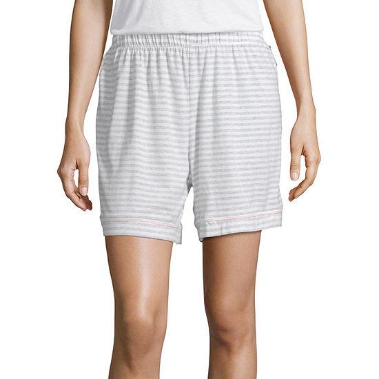 Liz Claiborne Womens Essential Knit Shorts