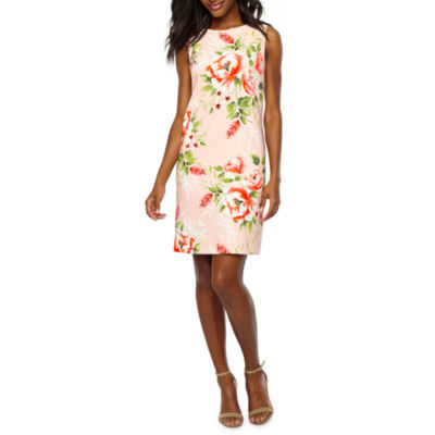 Alyx Sleeveless Floral Shift Dress