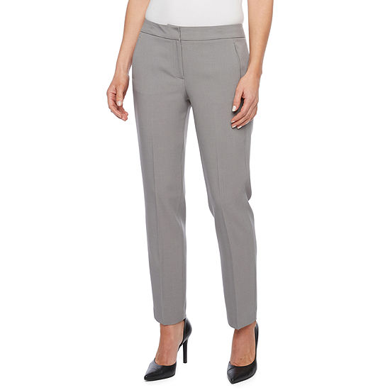 Black Label By Evan Picone Classic Fit Suit Pants