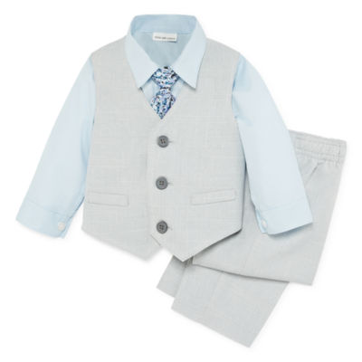 Van Heusen 4-pc. Suit Set Baby Boys