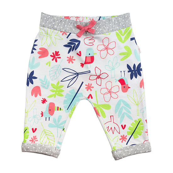 Mac And Moon Girls Pull-On Pants - Baby