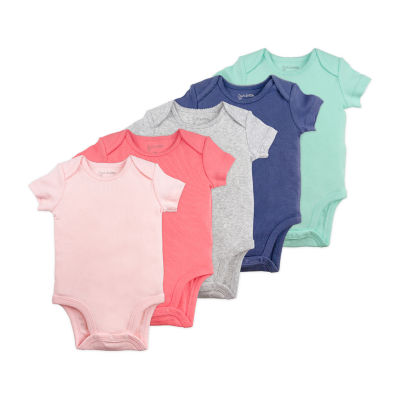 Mac And Moon 5 Pack Bodysuit - Baby