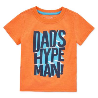Okie Dokie Boys Round Neck Short Sleeve Graphic T-Shirt