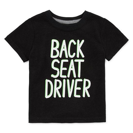 Okie Dokie Boys Round Neck Short Sleeve Graphic T-Shirt - Baby