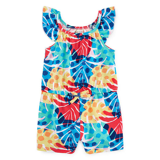 Okie Dokie Short Sleeve Romper - Baby Girls
