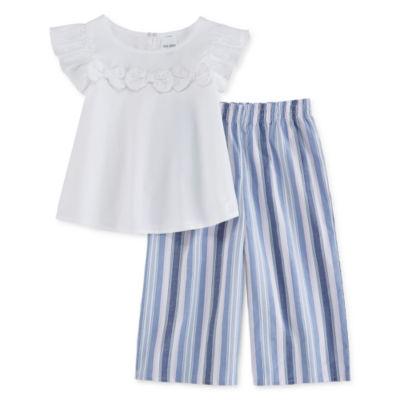Okie Dokie 2-pc. Skirt Set Toddler Girls