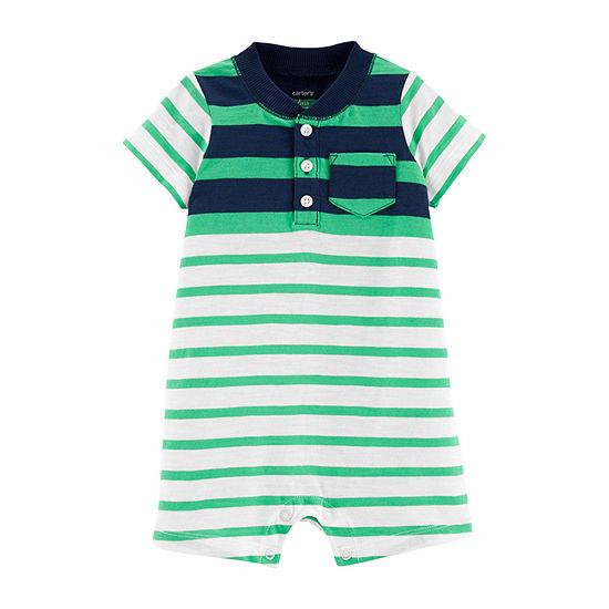 4e43ae0e48d1 Carter s Short Sleeve Romper - Baby Boy - JCPenney