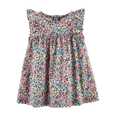 Carter's Short Sleeve A-Line Dress Girls