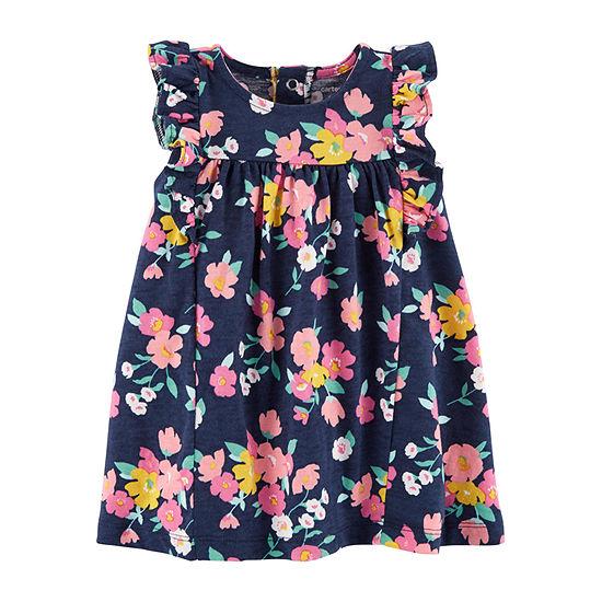 Carter's Girls Short Sleeve A-Line Dress - Baby