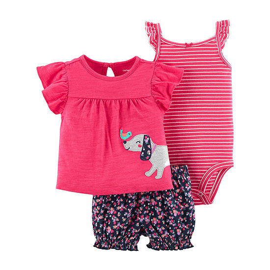 Carter's Girls Short Set Baby