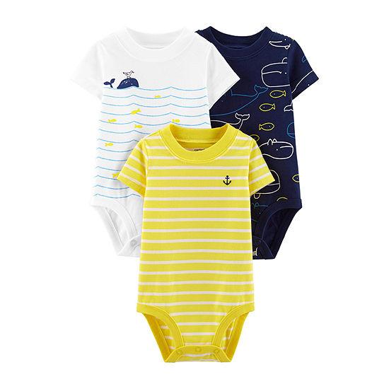 Carter's 3-Pk. Bodysuit Boys-Baby