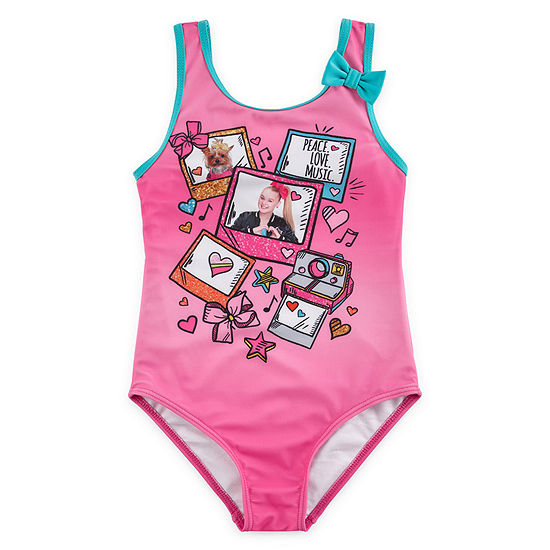 Nickelodeon Girls Swimwear Girls Bows One Piece Swimsuit Preschool