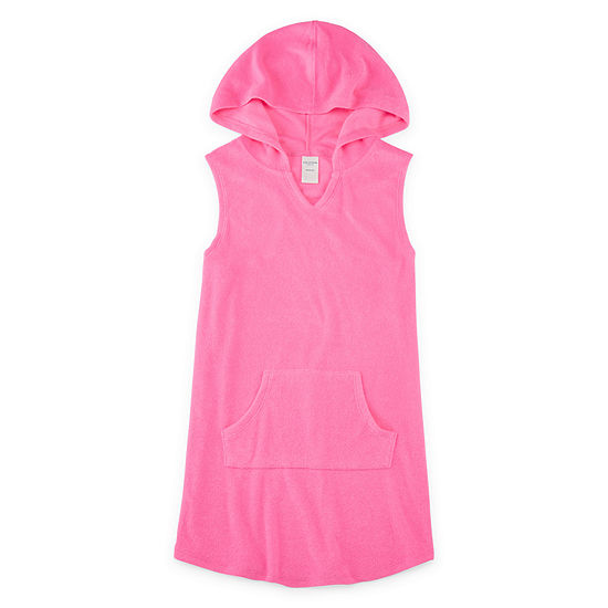 Arizona Hooded Cover Up Girls 4 16