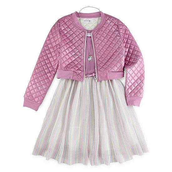 Love Jayne - Little Kid / Big Kid Girls 2-pc. Jacket Dress