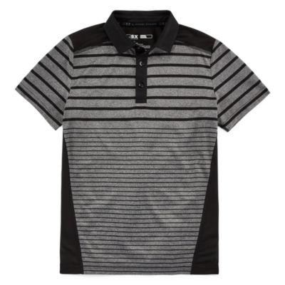 Msx By Michael Strahan Boys Johnny Collar Short Sleeve Polo Shirt Preschool / Big Kid