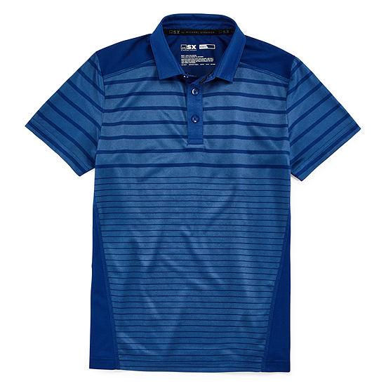 02c83fa7 Msx By Michael Strahan Boys Johnny Collar Short Sleeve Polo Shirt Preschool  / Big Kid - JCPenney