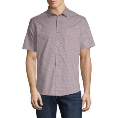Claiborne Mens No Tuck Button-Down Slim Fit Shirt