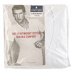 Stafford® 4-pk. Heavyweight Cotton V-Neck T-Shirts