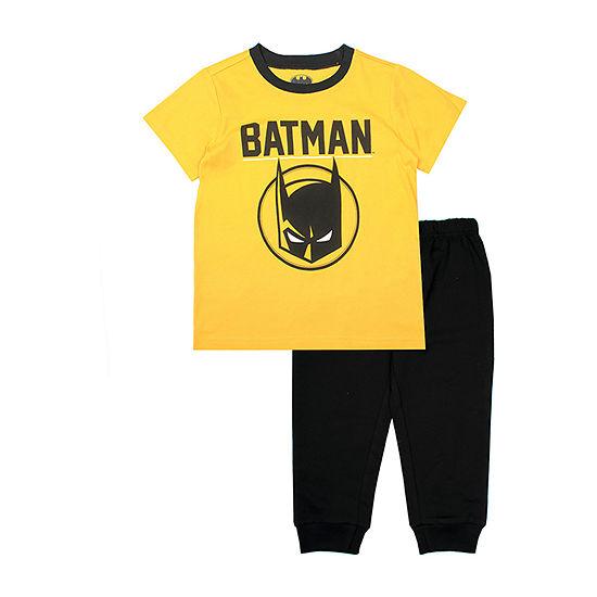 Batman 2-pc. Pant Set Toddler Boys