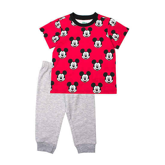 8bcdbf2f1 Disney Mickey Mouse 2-pc. Pant Set Toddler Boys - JCPenney