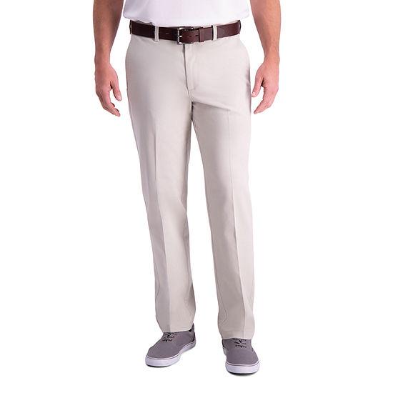 Haggar Premium Comfort Khaki Classic Fit Flat Front