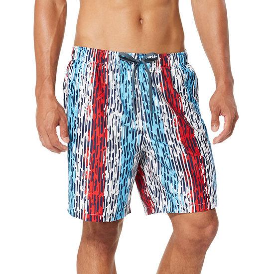Speedo Striped Swim Trunks