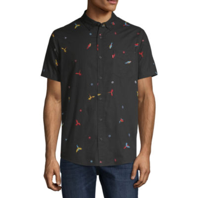 Levi's® Mens Short Sleeve Button- Front Shirt