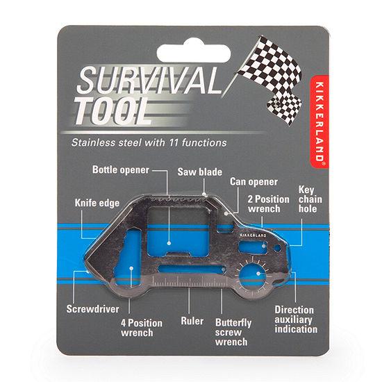 Kikkerland® Car Survival 11 Functions Tool