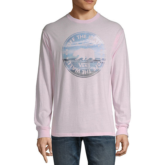 Vans Mens Crew Neck Long Sleeve T-Shirt