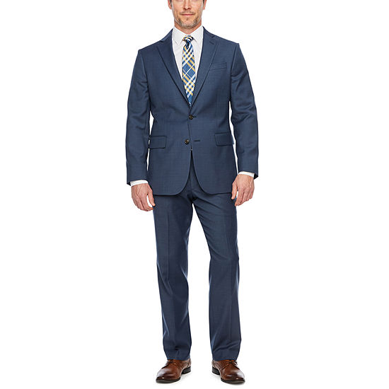 Stafford Super Suit Mid Blue Classic Suit Separates
