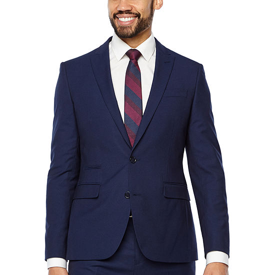 JF J.Ferrar Mens Stretch Slim Fit Suit Jacket