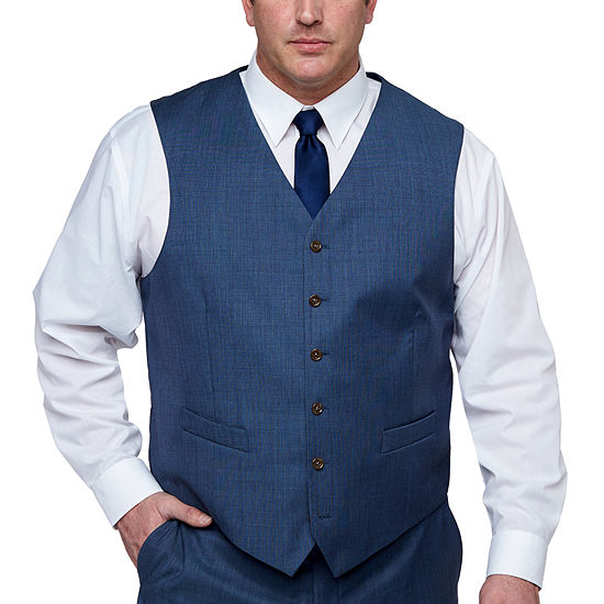 Stafford Executive Classic Fit Suit Vest - Big and Tall
