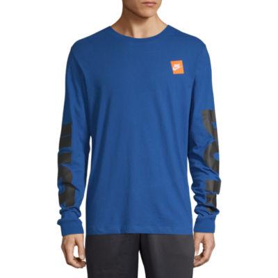 Nike Mens Cotton Long Sleeve T-Shirt