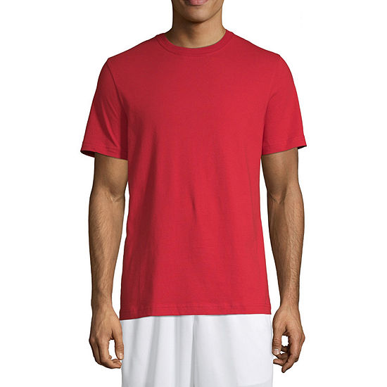 Xersion Cotton Mens Crew Neck Short Sleeve Moisture Wicking T-Shirt