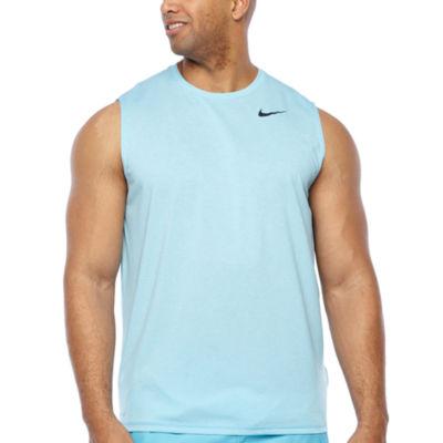 Nike Mens Crew Neck Sleeveless T-Shirt-Big